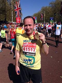 Michael Jaeger marathon run